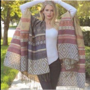 Jackets & Blazers - ✨🌟✨Reversible Aztec Poncho🌟✨